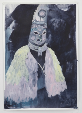 Carnaval, acrylique sur papier aquarelle, 110x150 cm, 2014